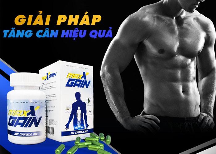 Viên tăng cân Maxx Gain-VN: Bí quyết tăng cân thành công 100%