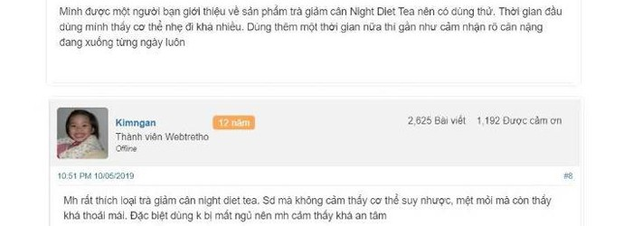 Trà giảm cân Orihiro Night Diet Tea – Đáp án chính xác cho bài toán giảm cân của bạn