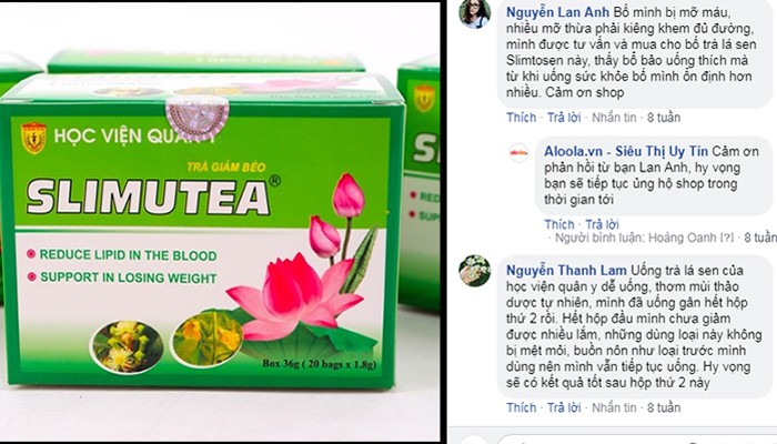 Sử dụng trà giảm cân Slimutea thế nào để hiệu quả? 3