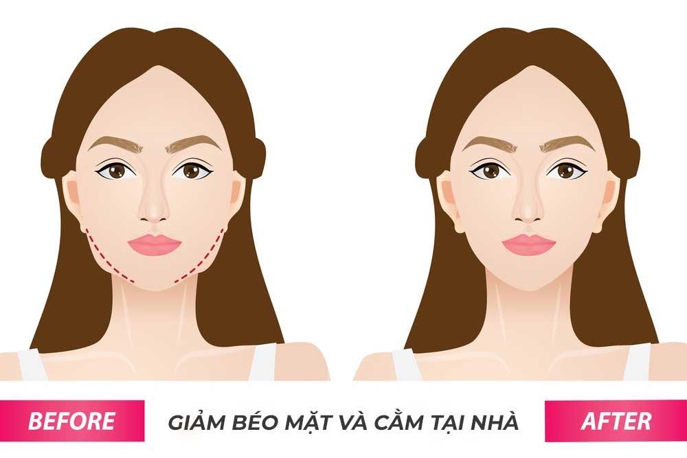 Cách giảm béo mặt giúp mặt thon gọn ngay tại nhà