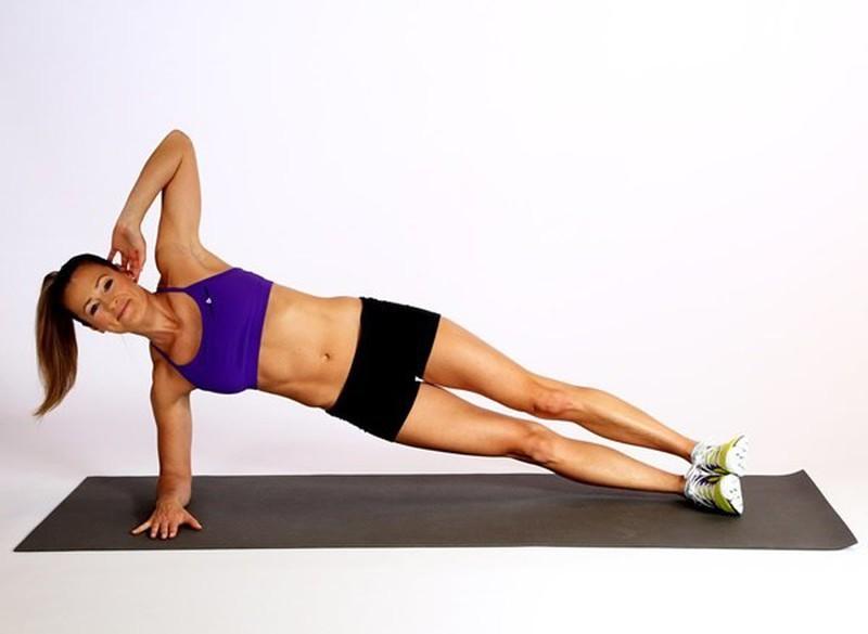 Giảm mỡ bụng qua động tác gập bụng hiệu quả