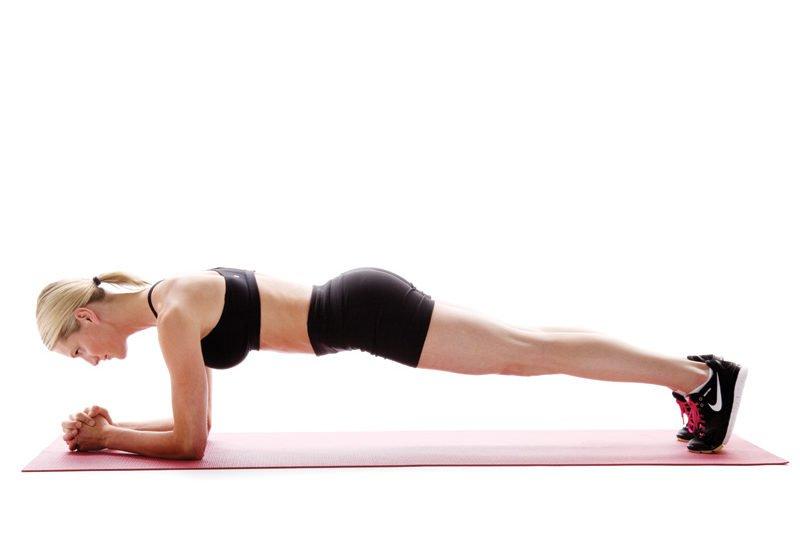 Plank - Bài tập giúp giảm được lượng mỡ bụng nhanh chóng