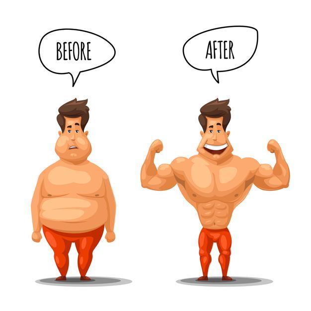 Tăng cơ giảm mỡ cho nam có dễ dàng hay không?