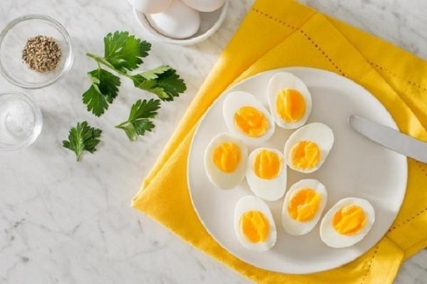 Thực đơn giảm cân bằng trứng luộc được rất nhiều chị em tin tưởng