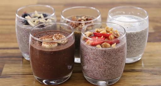 Thực đơn giảm cân 7 ngày với pudding hạt chia