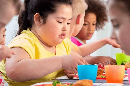 Tình trạng học sinh bị thừa cân ngày càng nhiều