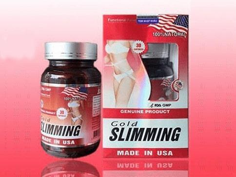 Thuốc giảm cân Gold Slimming