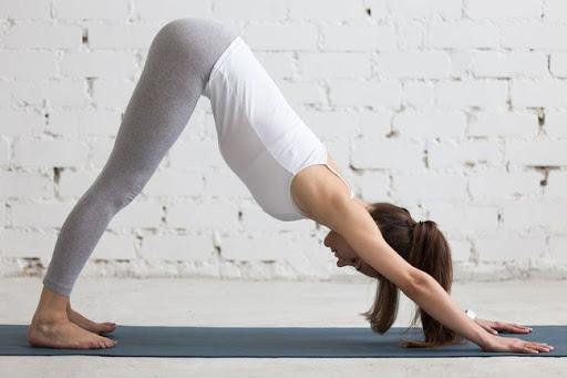 Yoga giảm mỡ tay