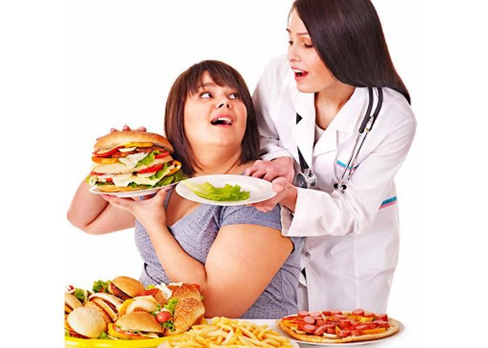 Tăng cân béo phì do đâu? Dinh dưỡng cho người giảm cân ra sao?