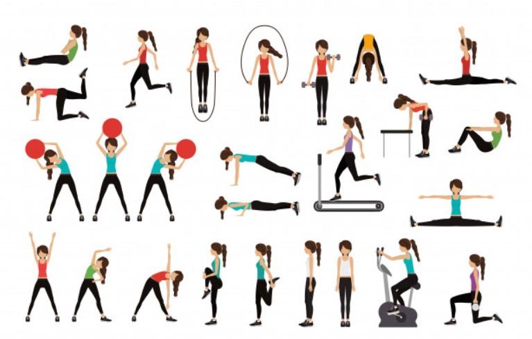 Kết hợp các động tác vận động toàn cơ thể