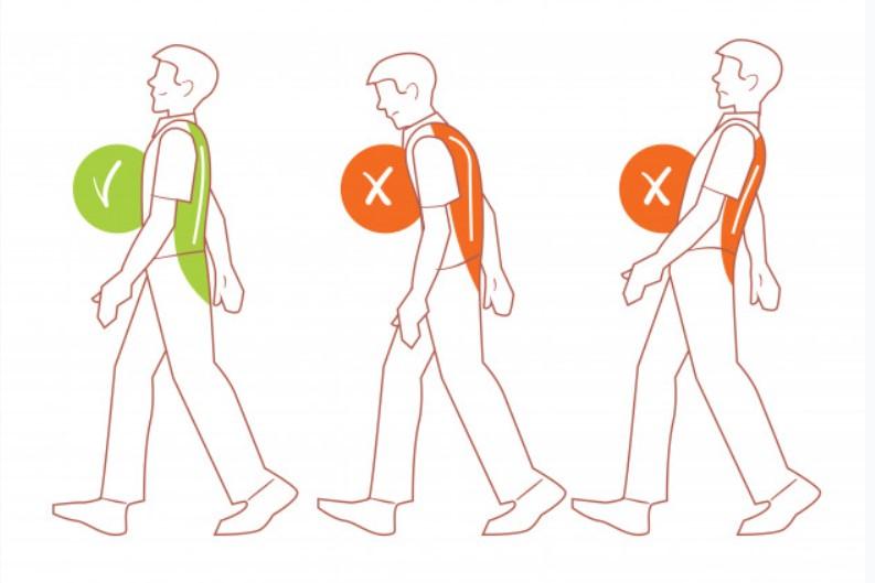 Tư thế đi bộ chuẩn