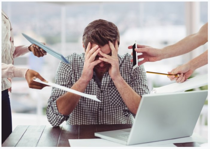 Stress do công việc mang lại