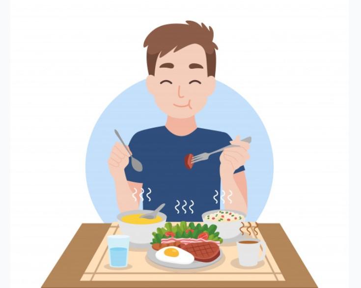 Xen kẽ các bữa ăn chính