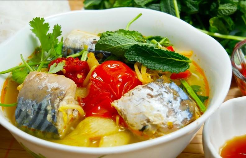Món ăn giảm cân với món canh chua cá lóc