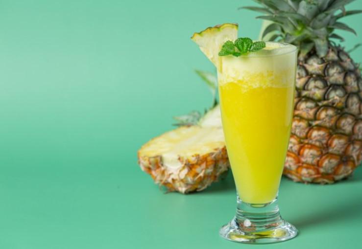 Nước uống giảm cân từ quả dứa(khóm,thơm)