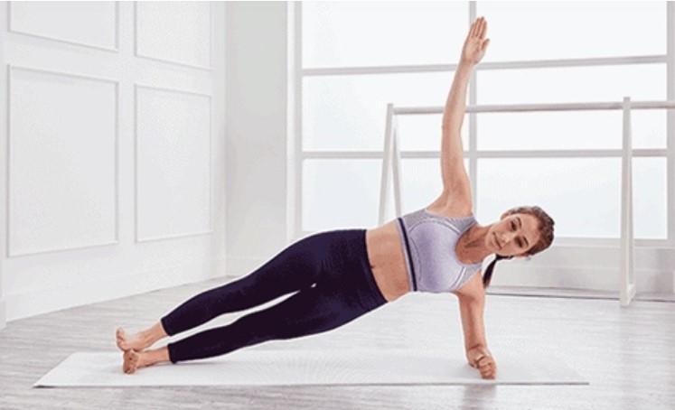 Tư thế yoga Plank (Plank 1 bên)