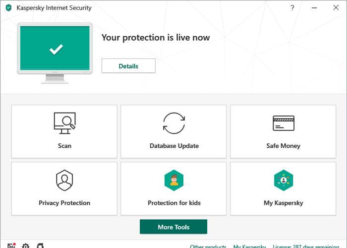 Kaspersky Internet Security giúp bảo vệ máy tính của bạn