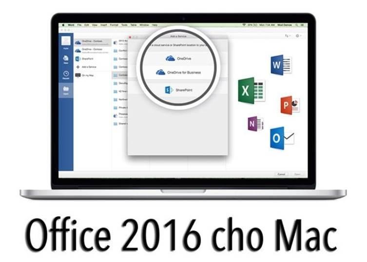 Những lý do nên mua Office 2016 Home and Business cho MAC