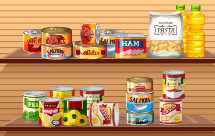 Hạn chế sử dụng thực phẩm đóng hộp