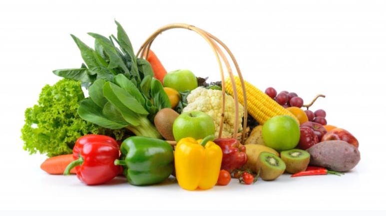 Cung cấp nhiều rau và trái cây cho cơ thể