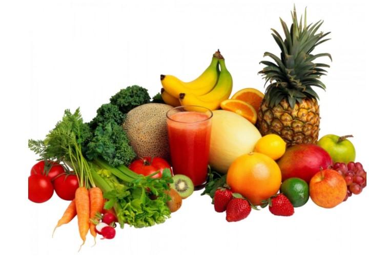Cung cấp nhiều trái cây và rau quả cho cơ thể