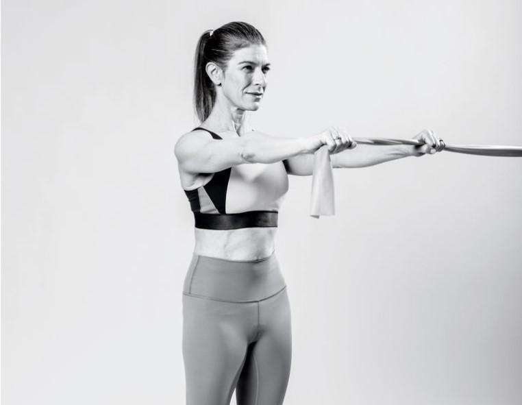 Dây tập Yoga và bài tập Band Press