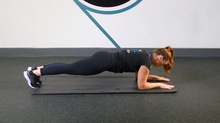 Plank to Pushup